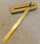 E. W. Moore Patent Pending Roof Framing Bevel / Tool