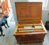 19th Century Antique Carpenters Tool Box
