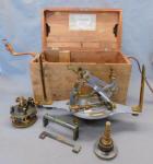 Antique W. & L. E. Gurley Aluminum Solar Compass