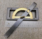 W.S. Batchelder Level - Inclinometer - Square  Patented 1867 by G.L. Chamberlin