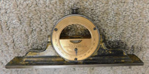 L. L. Davis Adjustable Spirit Level  Mantle Clock Level / Inclinomete