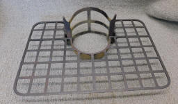 Cast Iron Trivet Tree / Stove Pipe Trivet / Stove Shelf / Mitten Warmer