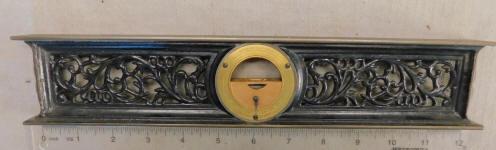 Davis Level & Tool Co. 12 Inch Cast Iron Inclinometer / Adjustable Spirit Level