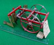 1878 Patent Model of Corn Planter by Adam Heckman