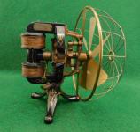 Thomas A. Edison 6 Blade Electric Battery Fan Moto