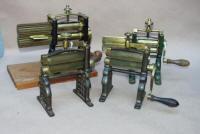 Combination Charcoal Flat Iron Fluter Iron