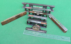 Antique Carpenter & Machinist levels / Inclinometers