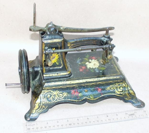 antique domestic sewing machine value