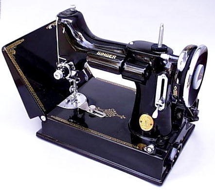 Patentedantiques Singer Featherweight 40 40 Sewing Machines Simple Vintage Singer Portable Sewing Machine