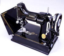 Black Singer Featherweight 221 Sewing Machine
