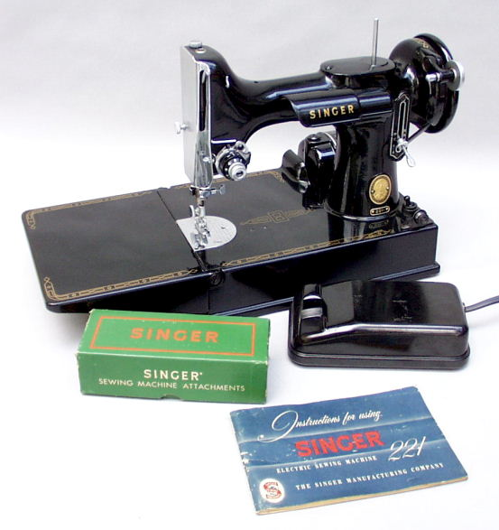 Patentedantiques Singer Featherweight 40 40 Sewing Machines Adorable Vintage Singer Sewing Machine Attachments