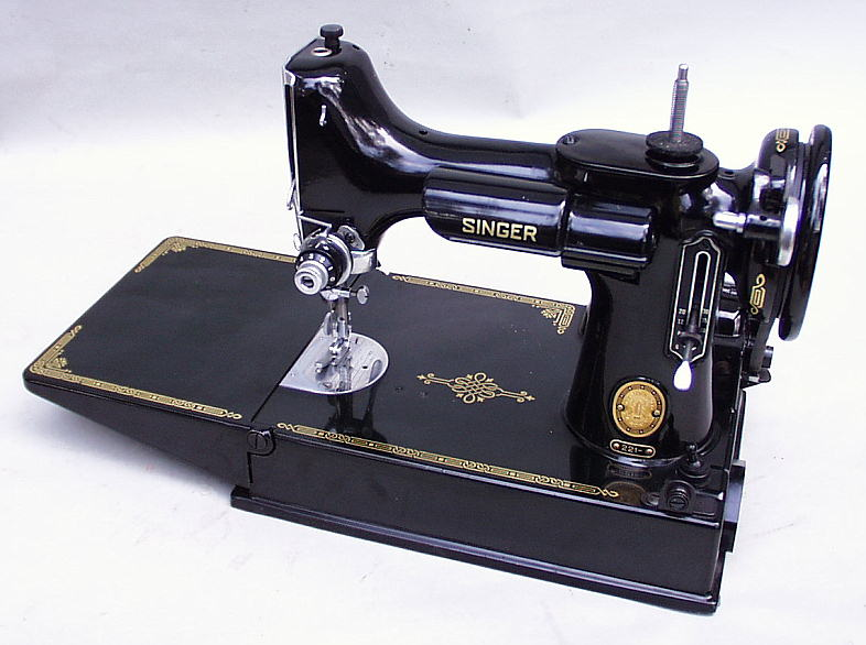Patentedantiques Singer Featherweight 40 Sewing Machines Amazing 1947 Singer Featherweight Sewing Machine