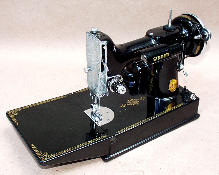 Patentedantiques Singer Featherweight 40 Sewing Machines Fascinating 1947 Singer Featherweight Sewing Machine